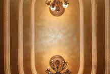 Venetian Plaster Ceilings / Home Interiors - Venetian Plaster Design Italian Plaster Ceilings   www.plastersofitaly.com / by Vallie Duncan