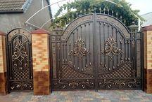 puertas portones