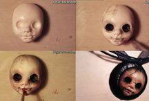 Beängstigende Puppen