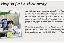 (Local) Special Needs Resources / Special needs resources in and around Maryland.