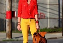Как и с чем носить желтый цвет