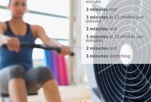 Fitness - Rowing Machine