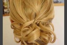 Hair for Steph wedding