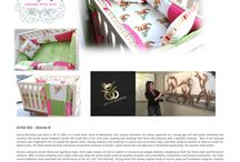 Pink Pony Collection for Baby! / Equestrian style pink pony bedding, layette, quilt and crib sheet sets.