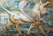 Kunst / Okse i iransk og babylonsk kunst
