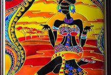 АФРИКА+орнамент