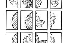 podzim - pr. listy,grafomotorika