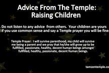 Temple Advice: Raising Children