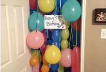 bedroom birthday