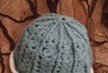 my stuff / crocket and knitting