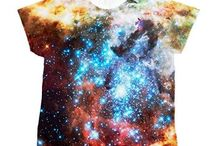 Universe Shirts All-Over Print / Galaxy, Nebula,  and Universe Shirts All-Over Print, ink from sleeve to sleeve! One of a kind images edited by Sir Douglas Fresh