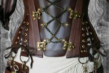 Leatherworking ideas / None of the comments here are mine since I was kind of pinning in a hurry, but there is a ton of really cool stuff that is inspiring me to create. / by Ian Macfarlane
