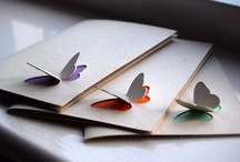 Paper works / Wrapping ideas, place cards, tag paper tips :) And everything made of paper.