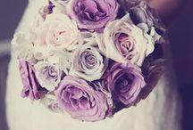 Bouquet de mariée et fleurs