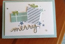 My SU! Projects / These are projects I have made using products from Stampin' Up!