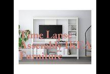 time lapse ikea furniture