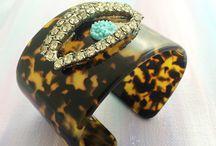 Vintage Bracelets / Dora Mae Jewelry one of a kind modern vintage bracelets