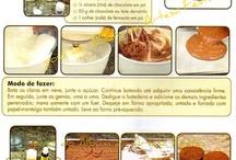 receitas / by lorena cristina