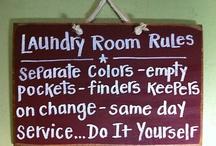 Decorating--Laundry Room / by Pamela Raines