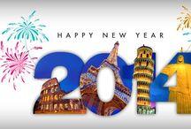 New Years celebrations around the world! / Celebrate the New Year around the World!