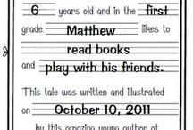 Kindergarten- Writing / by Jessica Nilsen