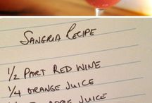Drink Recipes / by Jessica Booze