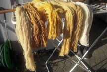 Fiber and Spinning / One of my hobbies are prepearing fiber I want to use on my spinning wheel.