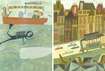 Illos by others / by Jennifer Appel