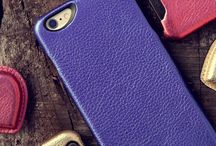 Metallic Leather Covers and Cases for Smart Phones / Looking for something unique in style for your new iPhone or any smart phone? Check out these metallic leather phone covers that will be unique and classy looking