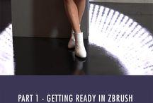 zBrush / zBrush tutorials and inspiration