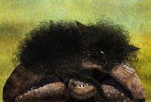 """Gatto che Fischia e Gatto molto Arruffato / """"Gatto che Fischia e Gatto molto Arruffato """" è una storia illustrata per bambini di età prescolare o poco superiore. Racconta di due gatti che si mettono in testa di aiutare un topo scambiandolo per un pipistrello. I due gatti vivono nel Parco dei Cocomeri Spiraletti dove conducono una vita tranquilla e senza problemi. Gatto che Fischia è pigro mentre Gatto molto Arruffato è un esploratore a volte invadente...http://gilrain.altervista.org/"""