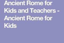Ancient roman life for childrenancient rome