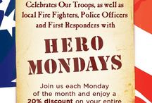 Military Discounts-Hampton Roads