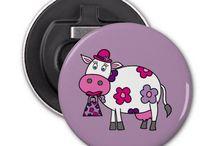 Cows / Lot of cute cartoon moo-cows!