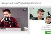 The Mia Connect Hangout Appearances / Google Hangout Interviews & Program appearances