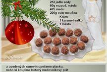 recepty - vánoční cukroví