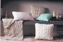 Knitted Home Ideas / Make your home a cosy retreat with beautiful knitted home ware.