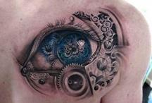 steampunk tatoo