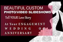 Photo Displays & Slideshow Ideas / Event Photos & Videos Wedding Ideas
