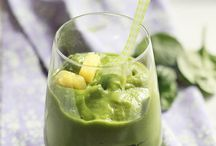 healthy smoothies with spinach