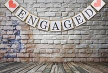 Wed: Engagement decor