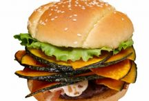Burgers of the World / Burgers from all around the world - as well as just plain amazing and tempting burgers in general.