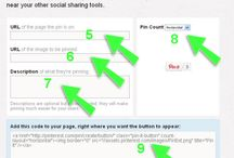 Pinterest Info / Information on how to use Pinterest