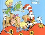 kindergarten maps and globes / by Debbie Shaw