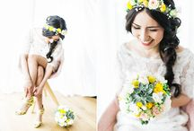wedding - color yellow