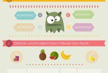 Infografías Leobien / Ejercicios para trabajar las habilidades lectoras de los más pequeños.