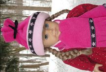 Easy to Sew American Girl Doll Clothes, Outfits, and Costumes, AG doll clothes and accessories / Here are lots of things that you can sew and knit for your favorite American Girl doll! / by Love To Sew Studio