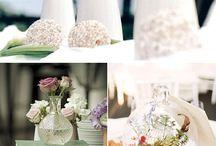 centros de mesa bodas románticas