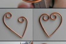 Pingente Wire Copper