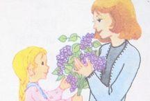 Vintage child books / Livres d'enfants aux belles illustrations - souvenirs !